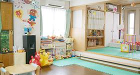 スタッフのための無料託児施設